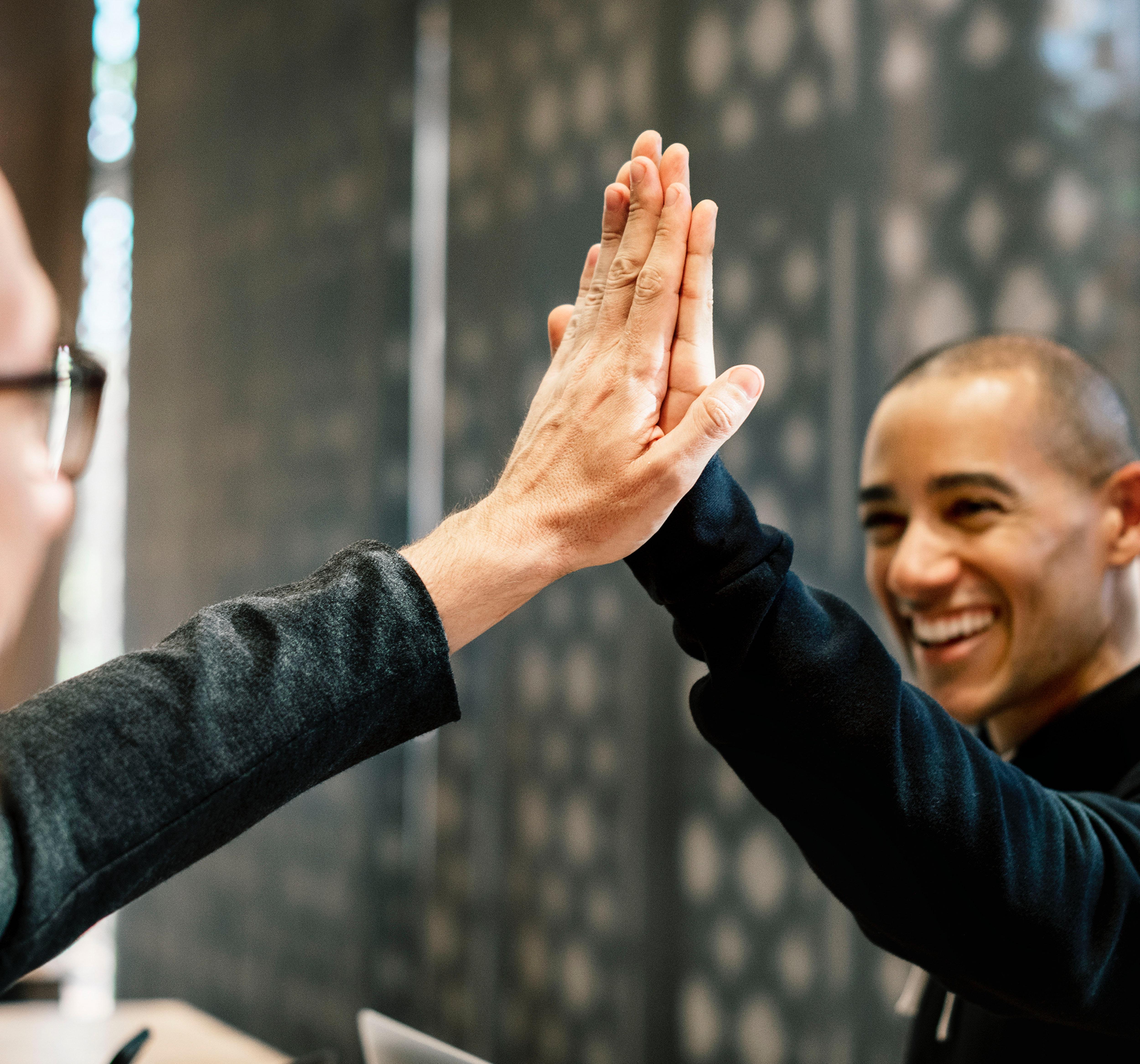 high five paulien vervoorn feedback geven ontvangen complimenten